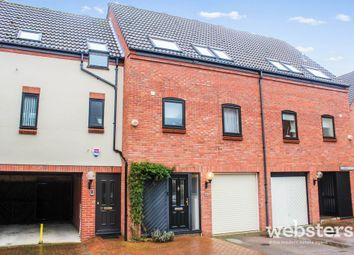 Thumbnail 3 bedroom town house for sale in Mulberry Close, Norwich
