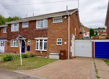 Thumbnail 3 bed semi-detached house for sale in Ploughmans Way, Gillingham