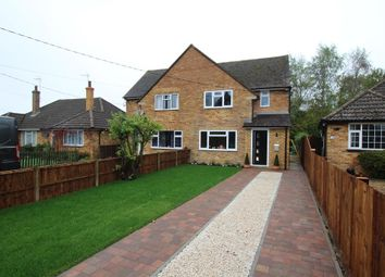 Thumbnail 3 bed semi-detached house to rent in Silver Street, Cublington, Leighton Buzzard
