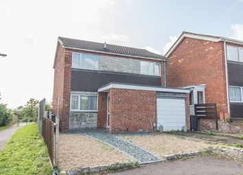 Thumbnail 3 bed detached house for sale in Rowse Close, Rugby
