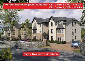 Thumbnail 2 bedroom flat for sale in Central Avenue, Cambuslang, Glasgow