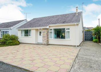 Thumbnail 2 bed bungalow for sale in Y Ffridd, Morfa Bychan, Porthmadog, Gwynedd