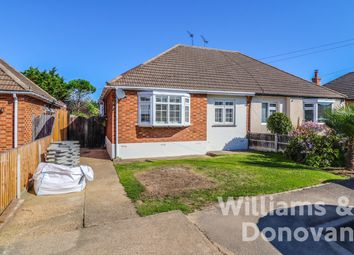 Thumbnail 3 bed semi-detached bungalow for sale in Barncombe Close, Benfleet
