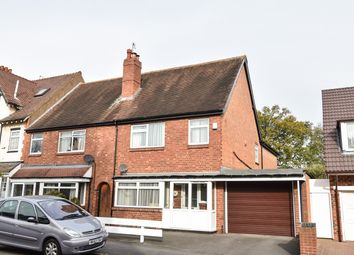 Thumbnail 4 bed semi-detached house for sale in Woodlands Road, Sparkhill, Birmingham