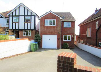 Thumbnail 4 bedroom detached house for sale in Cobden Avenue, Southampton