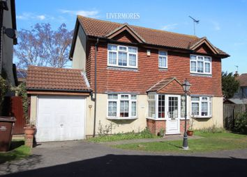 Thumbnail 3 bed detached house for sale in Brewers Field, Wilmington, Dartford