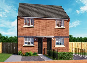 "Thumbnail 2 bed property for sale in ""The Haxby"" at Wellington Road, Northwood, Stoke-On-Trent"