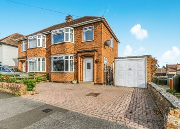 Thumbnail 3 bed semi-detached house for sale in Hillside Avenue, Kettering