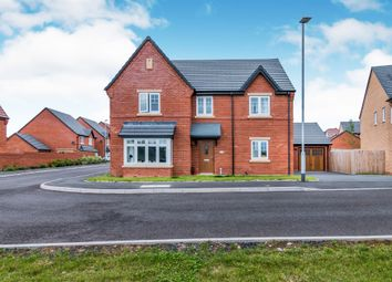 Thumbnail 4 bed detached house for sale in Dafodill Drive, Stafford, Gnosall