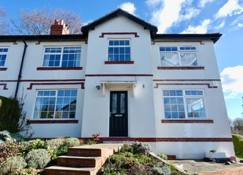 Thumbnail 4 bed semi-detached house for sale in South Bank, East Keswick, Leeds