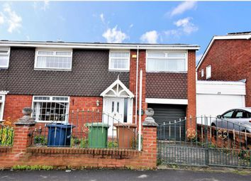 Thumbnail 4 bed semi-detached house for sale in Gayhurst Crescent, Mill Hill, Sunderland