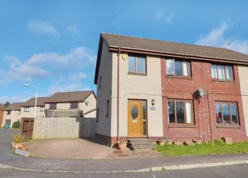 Thumbnail 3 bed semi-detached house for sale in Chapel Grove, Kirkcaldy, Fife