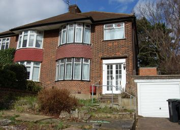Thumbnail 3 bedroom semi-detached house to rent in Roding Lane, Buckhurst Hill