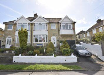 Thumbnail 4 bedroom semi-detached house for sale in Rowacres, Bath