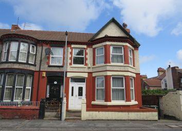 Thumbnail 4 bed end terrace house for sale in Grange Road West, Prenton