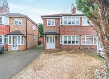 Thumbnail 3 bed semi-detached house for sale in Foxcote Drive, Shirley, Solihull