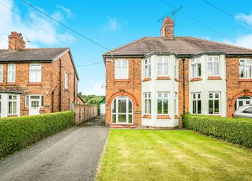 Thumbnail 3 bed semi-detached house for sale in School Lane, Bunbury, Tarporley