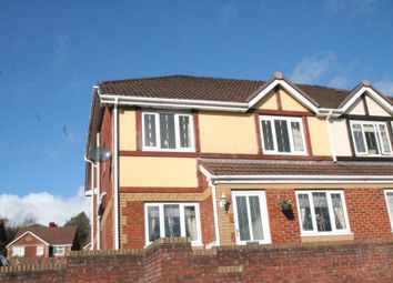 Thumbnail 3 bed semi-detached house for sale in North Rising, Pontlottyn, Caerphilly Borough