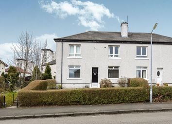 Thumbnail 2 bed flat for sale in Thane Road, Knightswood, Glasgow