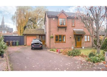Thumbnail 4 bed detached house for sale in Riverside Mead, Peterborough