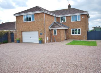 Thumbnail 4 bed detached house for sale in Clough Road, Gosberton Risegate, Spalding
