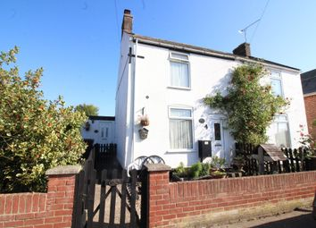 Thumbnail 2 bed semi-detached house for sale in Martham Road, Hemsby, Great Yarmouth