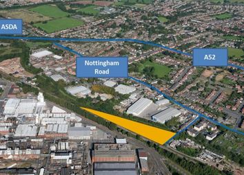 Thumbnail Land for sale in Anglers Lane, Spondon, Derby, Derbyshire