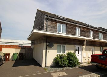 Thumbnail 3 bedroom semi-detached house for sale in Samuel Bassett Avenue, Roborough, Plymouth