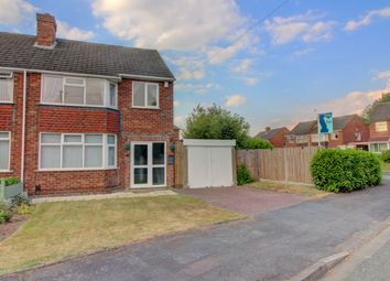 Thumbnail 3 bed semi-detached house for sale in June Crescent, Amington, Tamworth