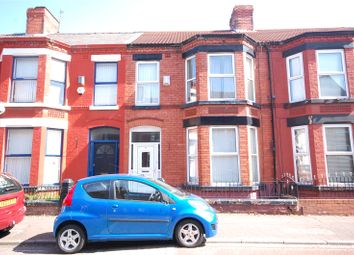 Thumbnail 4 bedroom terraced house for sale in Garmoyle Road, Wavertree, Liverpool