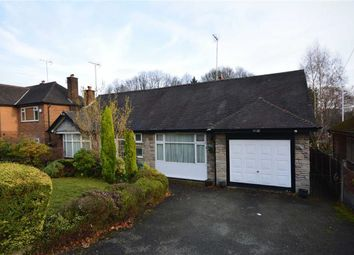 Thumbnail 3 bed detached bungalow for sale in Barnhill Avenue, Prestwich, Manchester
