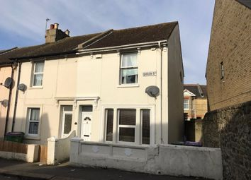 Thumbnail 2 bedroom terraced house for sale in Queen Street, Folkestone, Kent