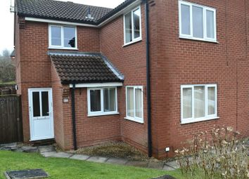 Thumbnail 1 bed flat to rent in Vicarage Gardens, Swadlincote