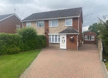 Thumbnail 4 bed semi-detached house for sale in The Green, Fairway, Chatteris