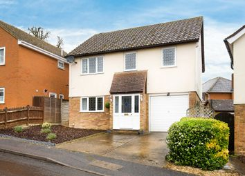 Thumbnail 4 bedroom detached house for sale in Layston Park, Royston
