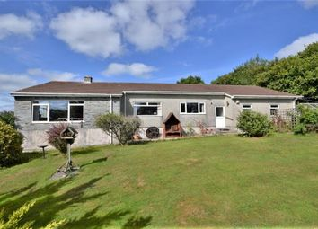 Thumbnail 3 bedroom detached bungalow for sale in Pillaton, Saltash, Cornwall