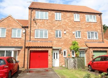 Thumbnail 4 bed town house for sale in Garbsen Court, Worksop
