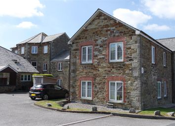 Thumbnail 2 bed flat for sale in Castle Hill Court, Cross Lane, Bodmin