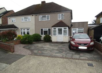 Thumbnail 4 bed semi-detached house for sale in Winchester Avenue, Cranham, Upminster