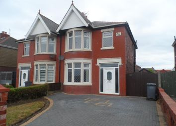 Thumbnail 3 bed semi-detached house for sale in Squires Gate Lane, Blackpool
