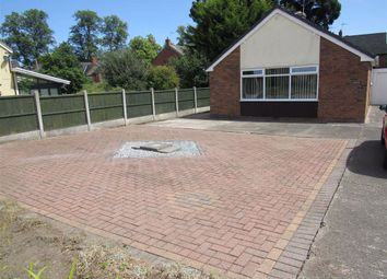 Thumbnail 3 bed detached bungalow to rent in Castle Crescent, Chirk, Wrexham
