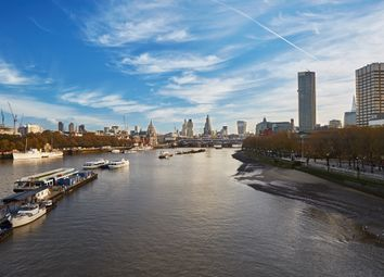 Thumbnail 1 bed flat to rent in Waterloo South Bank, London