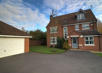 Thumbnail 5 bed detached house for sale in Chandlers Croft, Ibstock