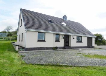 Thumbnail 4 bed detached bungalow for sale in Penlan Bungalow, Llysyfran, Clarbeston Road, Pembrokeshire