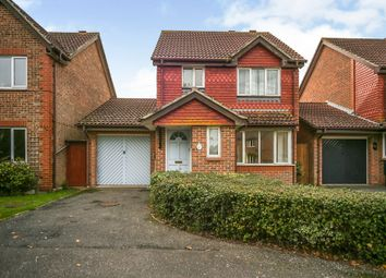 Thumbnail 3 bed detached house for sale in New Rectory Lane, Kingsnorth, Ashford
