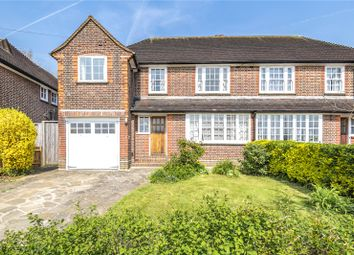Thumbnail 4 bedroom semi-detached house for sale in Albury Drive, Pinner, Middlesex