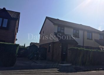 Thumbnail 3 bed semi-detached house to rent in Priorsgate, Oakdale, Blackwood, Caerphilly.