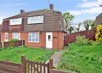 Thumbnail 2 bed semi-detached house for sale in Knights Road, Hoo, Rochester, Kent