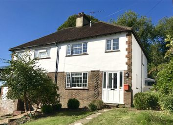 Thumbnail 3 bedroom semi-detached house for sale in Johnsdale, Oxted, Surrey
