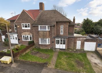 Thumbnail 3 bed semi-detached house for sale in Hever Croft, London